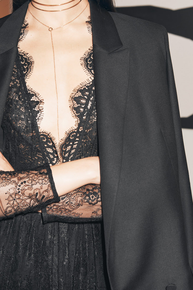 & Other Stories Lace Dress