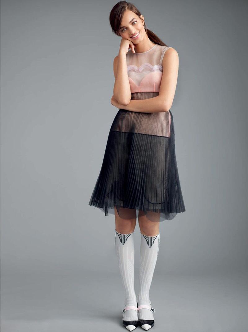 Prada Tulle Lace Dress