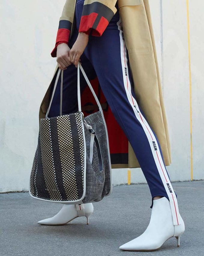 Proenza Schouler Extra Large Mixed Woven Tote