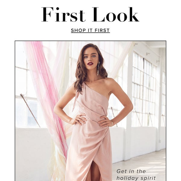 REVOLVE First Look Holiday 2017 Collection