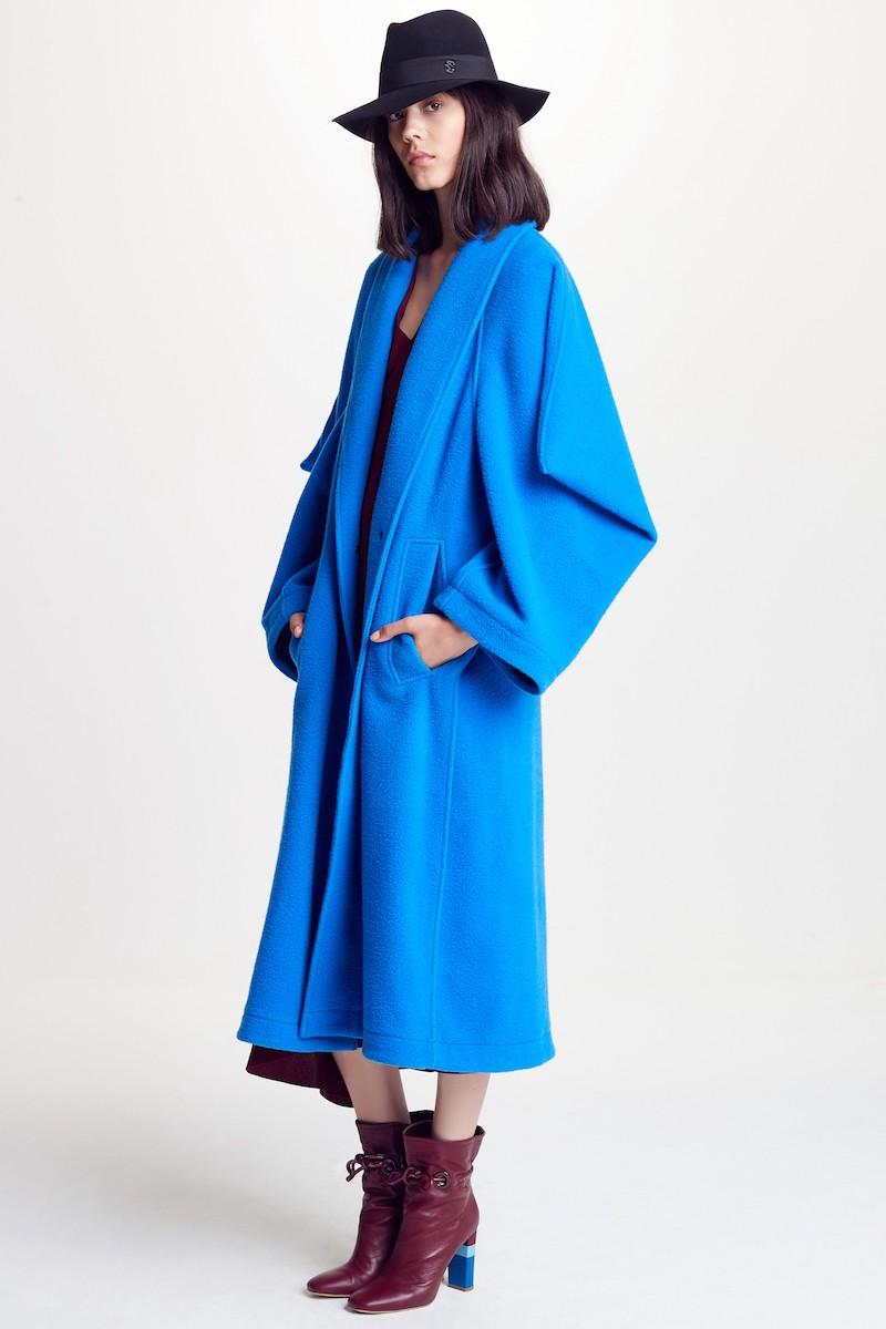 Roksanda Hotaru Wool & Cashmere Coat