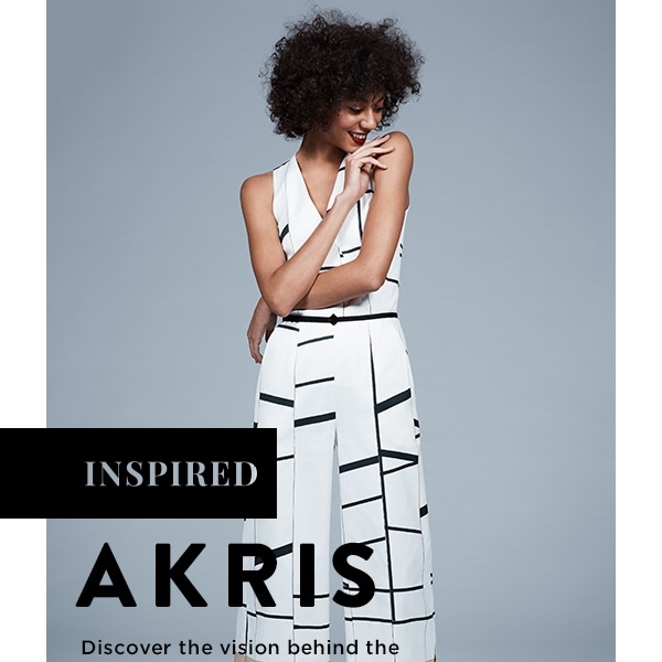 Akris Cruise 2018 Collection Transports Us to the French Riviera