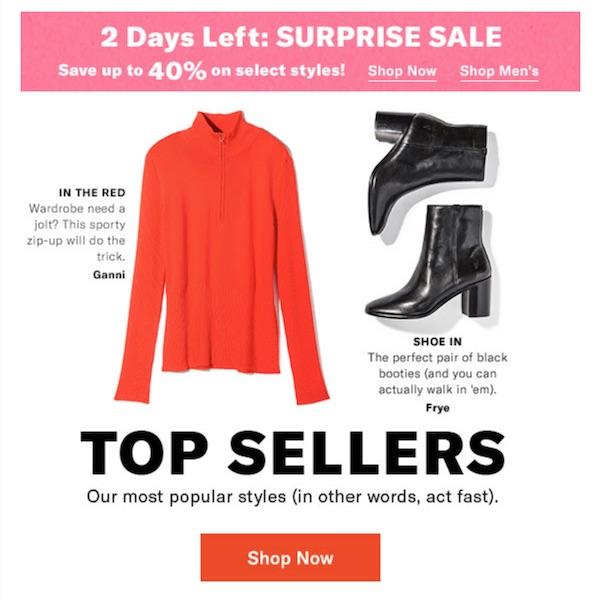 Shopbop Top Sellers + SURPRISE SALE