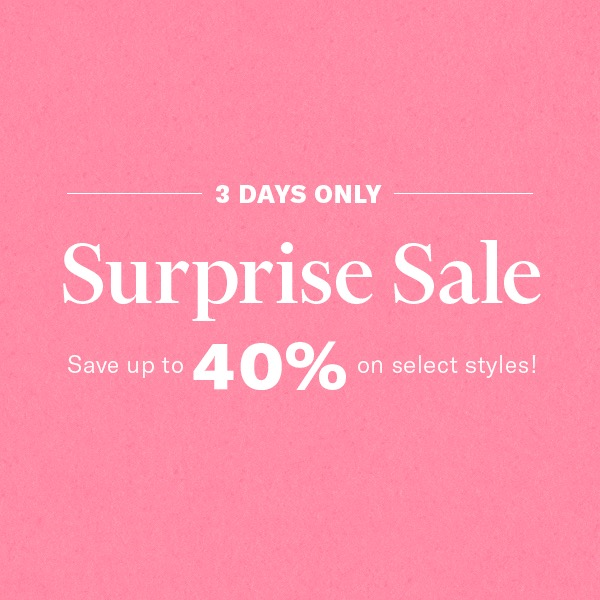 This surprise sale is HUGE at SHOPBOP