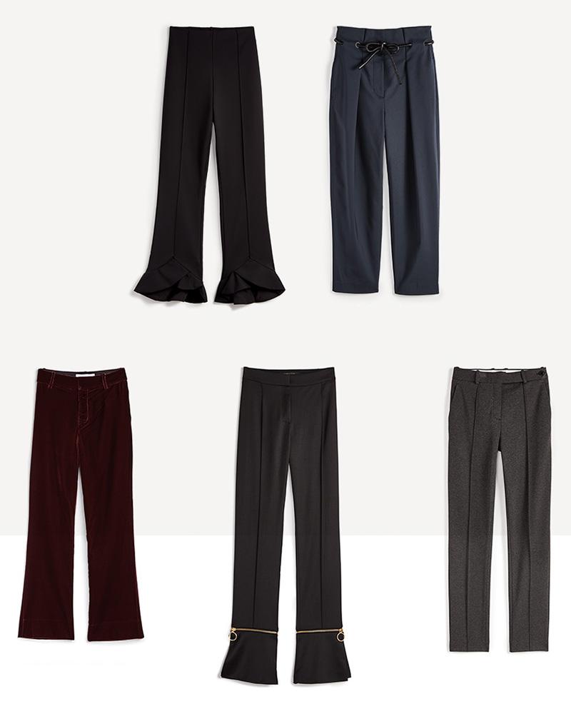 Slip On Trousers
