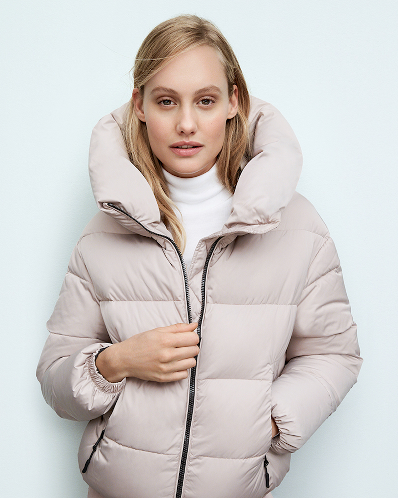 Soia & Kyo Brittany Down Bomber Jacket