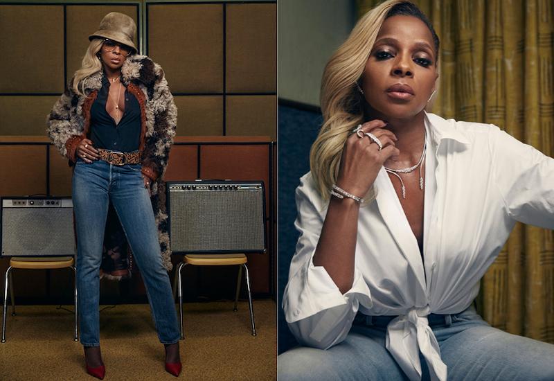 Soul Bird: Mary J. Blige for The EDIT