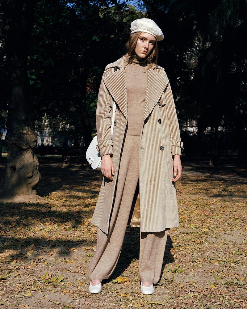 Stella McCartney High Waist Wool & Alpaca Knit Pants