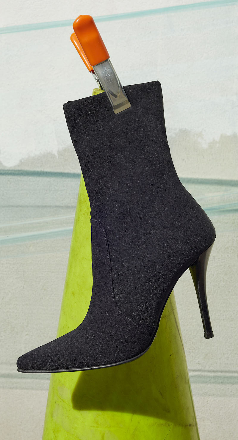 Stuart Weitzman Hifi Paneled Stretch Ankle Boots