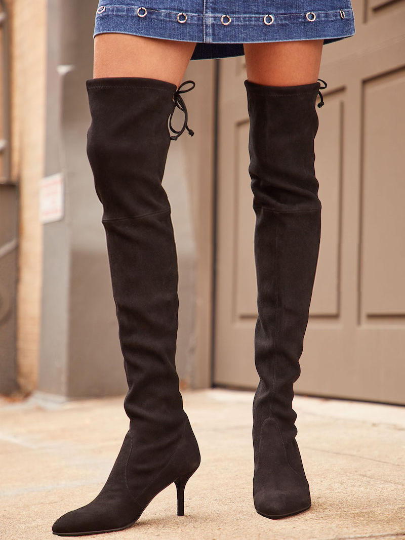 Stuart Weitzman Tie Model Thigh High Boots