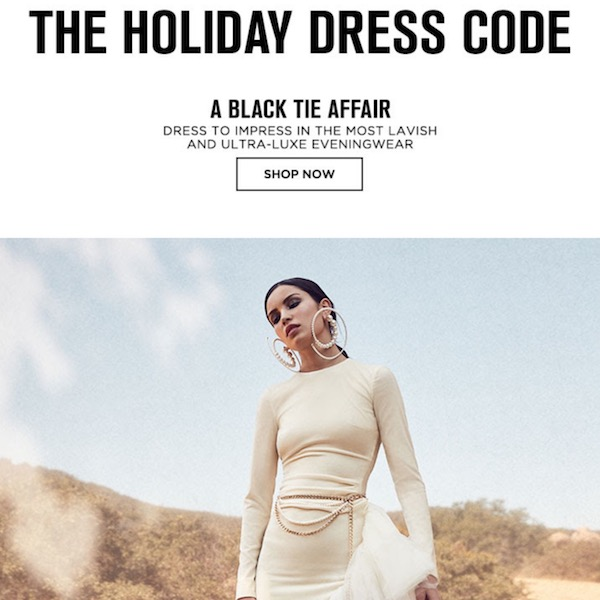 Style Guide Holiday 2017 Dress Code
