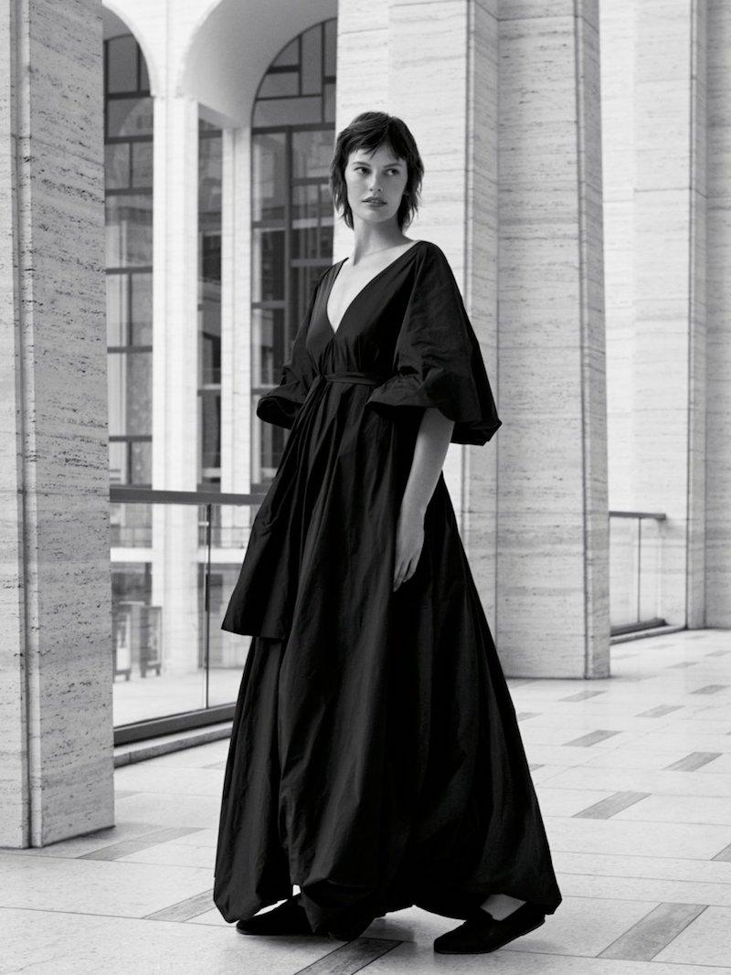THE ROW Leegan Oversized Taffeta Gown