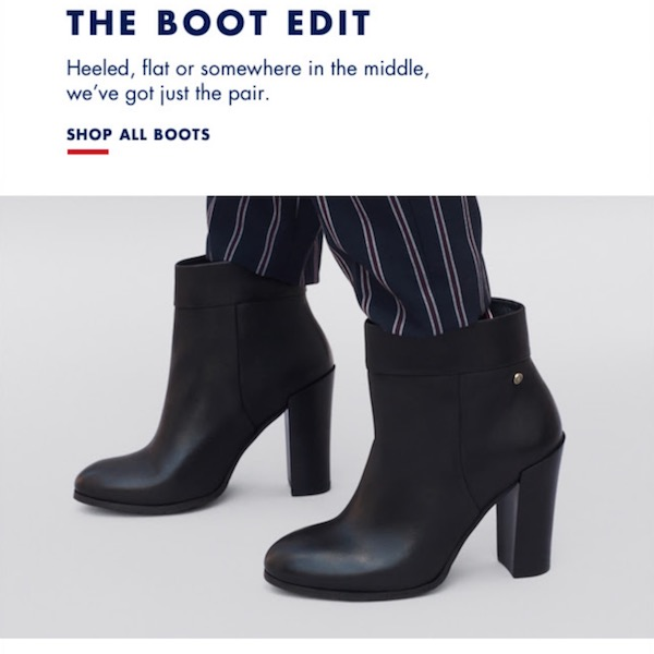 Tommy Hilfiger Fall 2017 The Boot Edit