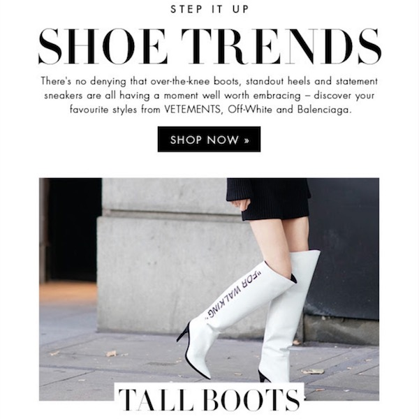 Step It Up: Top 3 Shoe Trends of Fall 2017