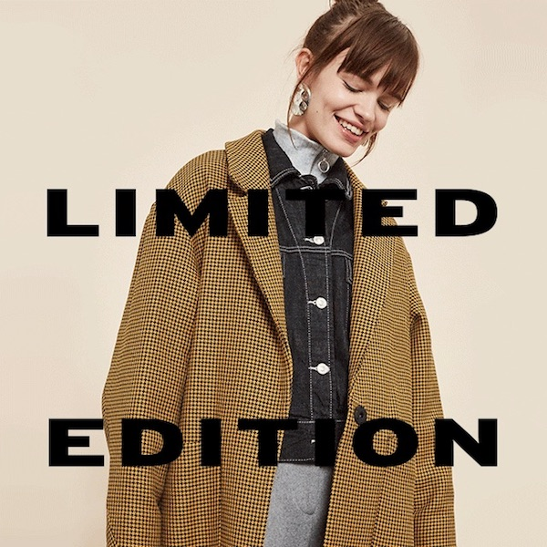 Topshop Fall/Winter 2017 Exclusive Luxurious Coat Collection