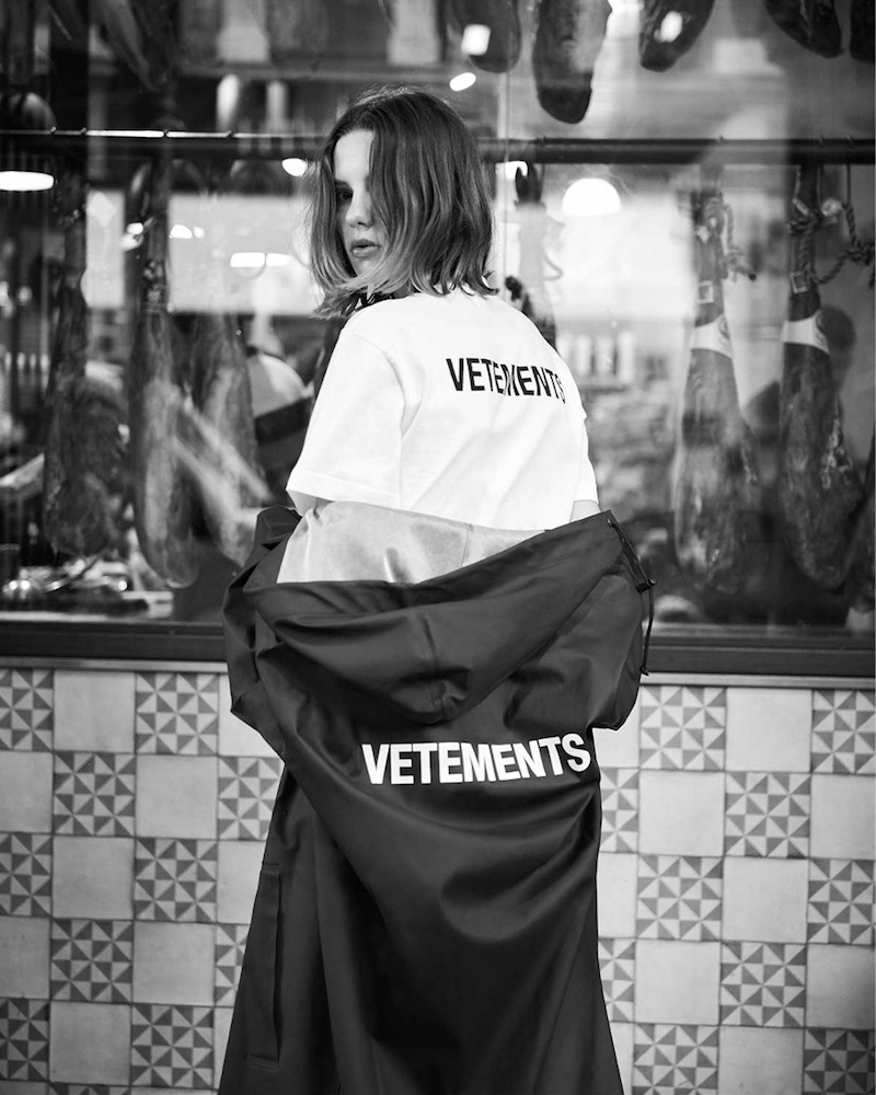 Vetements Oversized PVC-Coated Hooded Raincoat
