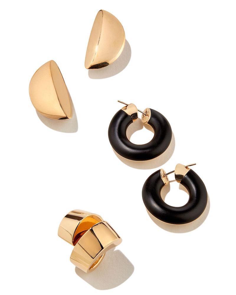 Vhernier Eclisse 18K Rose Gold Clip-On Earrings