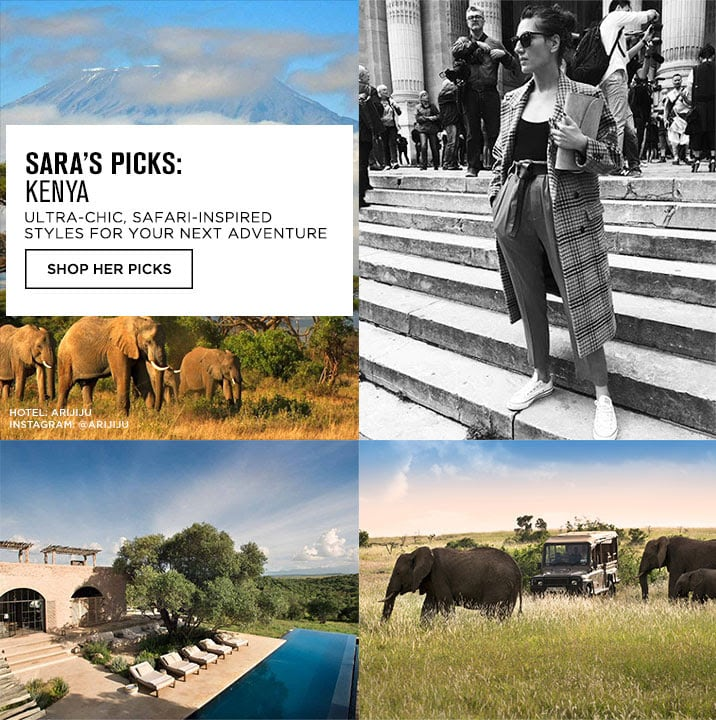 SARAS PICKS: KENYA