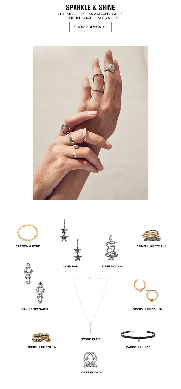 Sparkle and Shine - Shop Diamonds