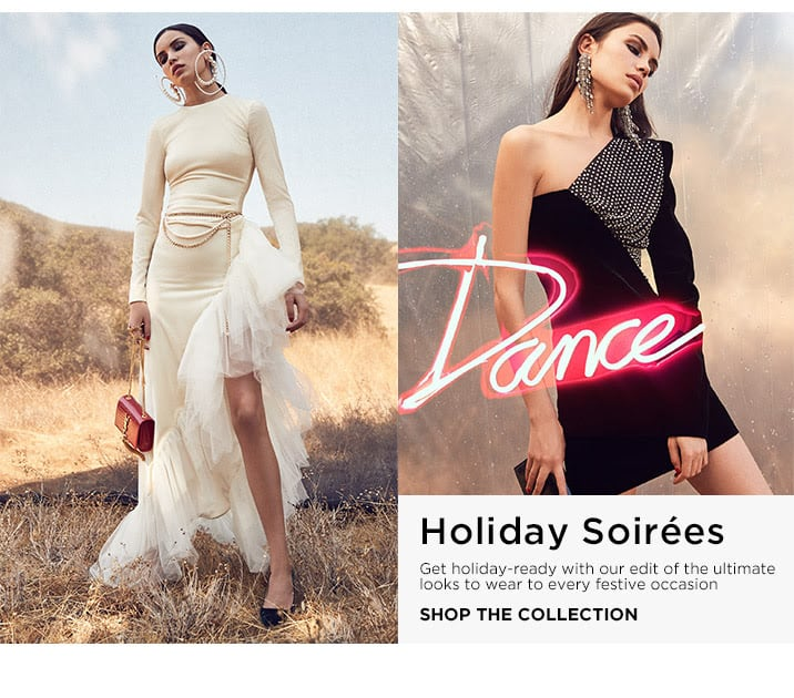 Holiday Soirees - Shop the Collection