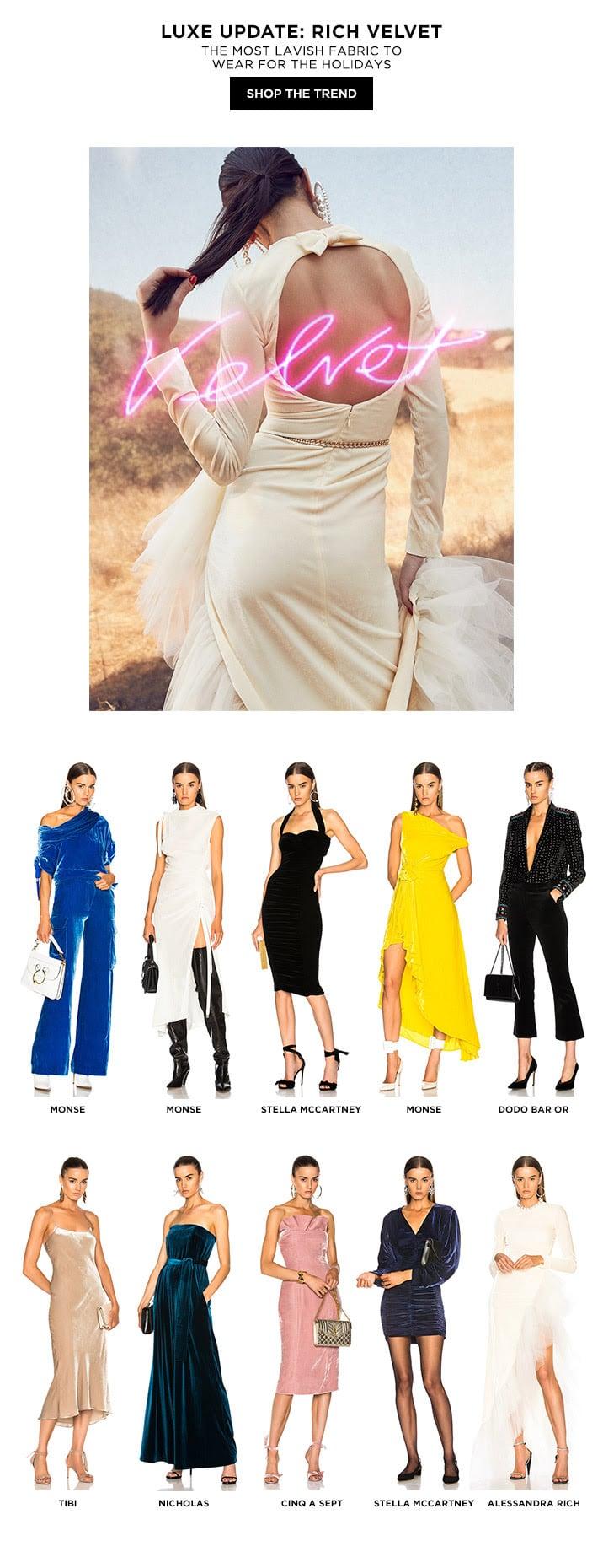 Luxe Update: Rich Velvet - Shop the Trend