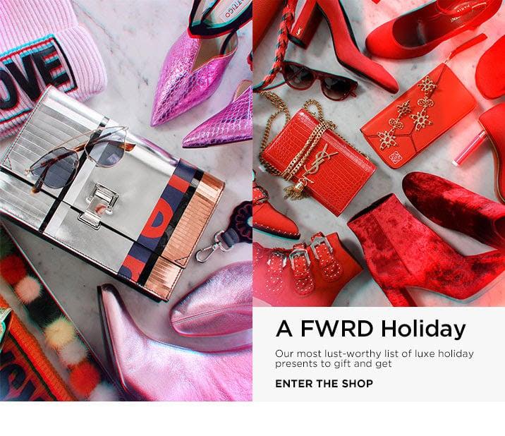 A FWRD Holiday - Enter the Shop