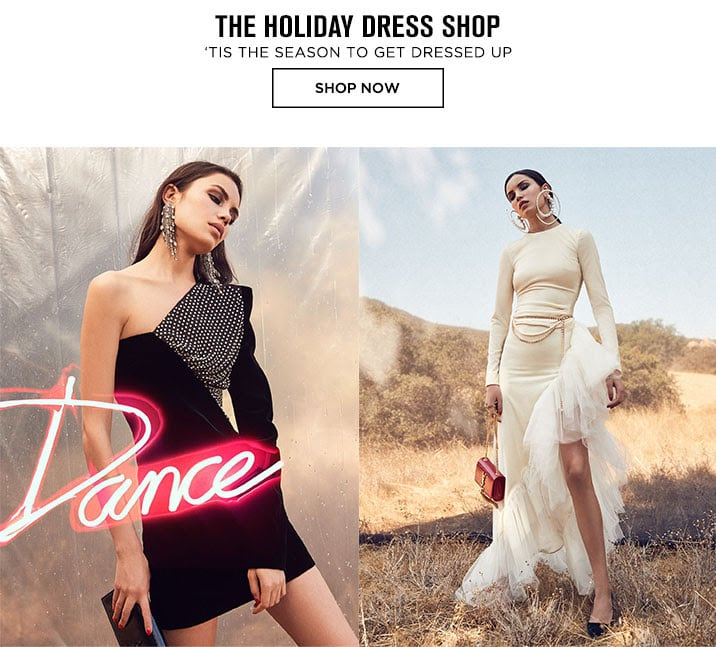 The Holiday Dress Shop - Shop Now