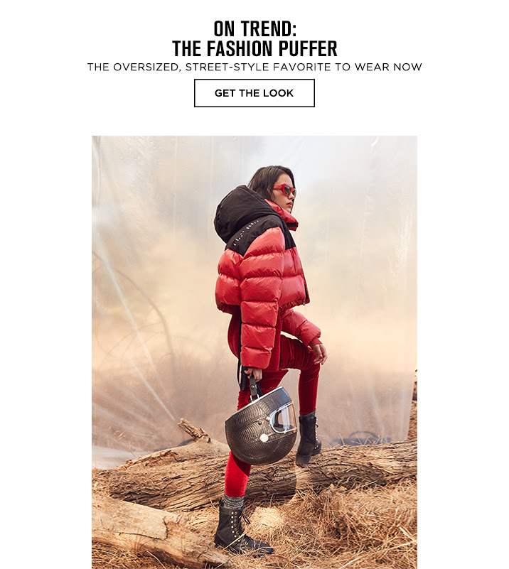 On Trend: Fashion Puffer - Get The Look