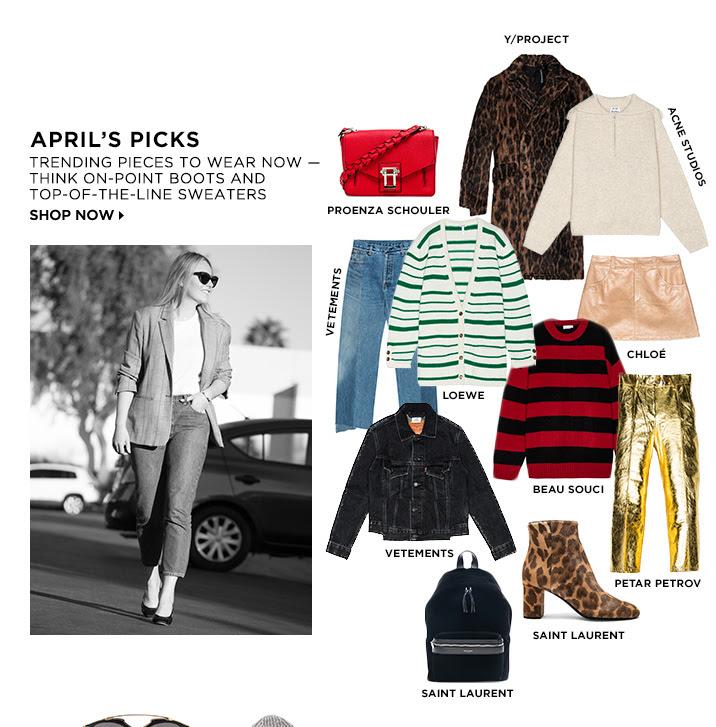Aprils Picks - Shop Now