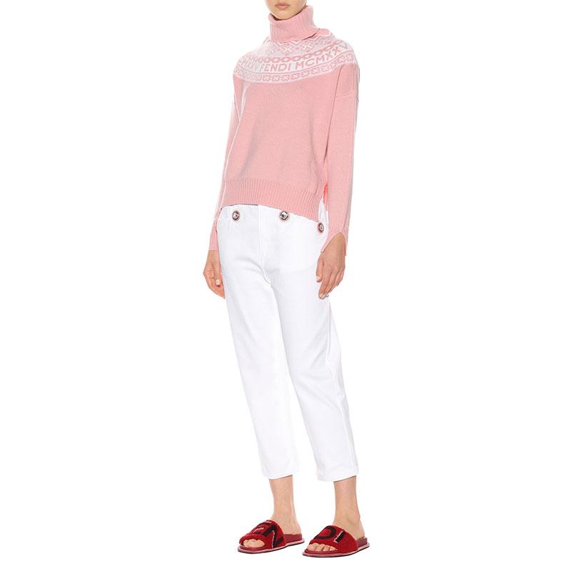 mytheresa.com x Fendi Fair Isle sweater