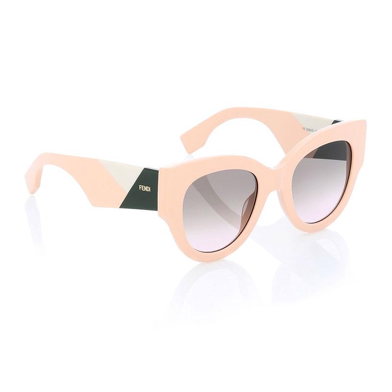 mytheresa.com x Fendi Oversized Round Geometric Sunglasses