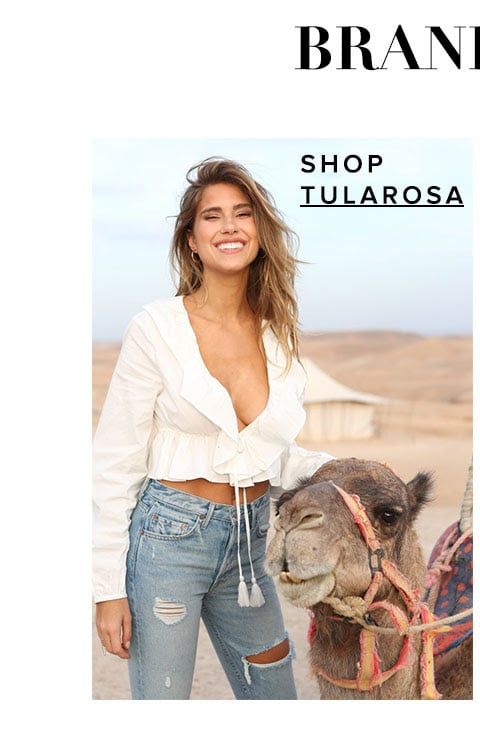 Brand new. Shop Tularosa.