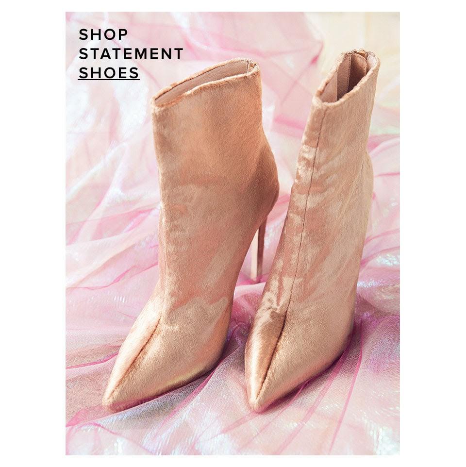 Shop statement shoes