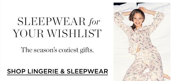 Shop Lingerie & Sleepwear