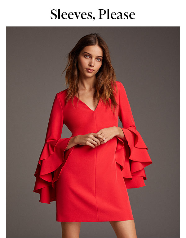 Thanks to these long-sleeved dresses, covered-up never looked so cool.