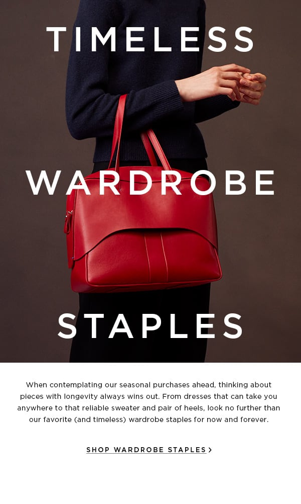 Timeless Wardrobe Staples