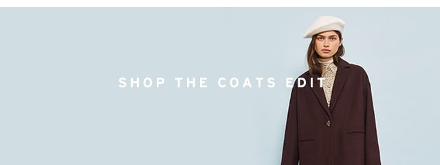 Get up to 50% off: The Coats Edit