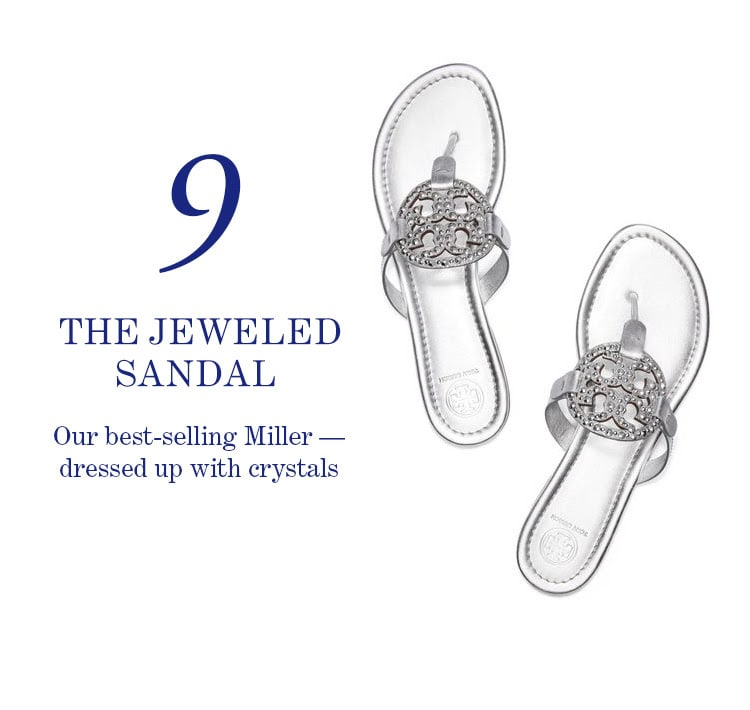 9. The Jeweled Sandal