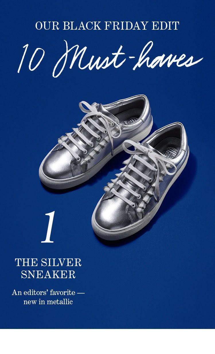 1. The Silver Sneaker