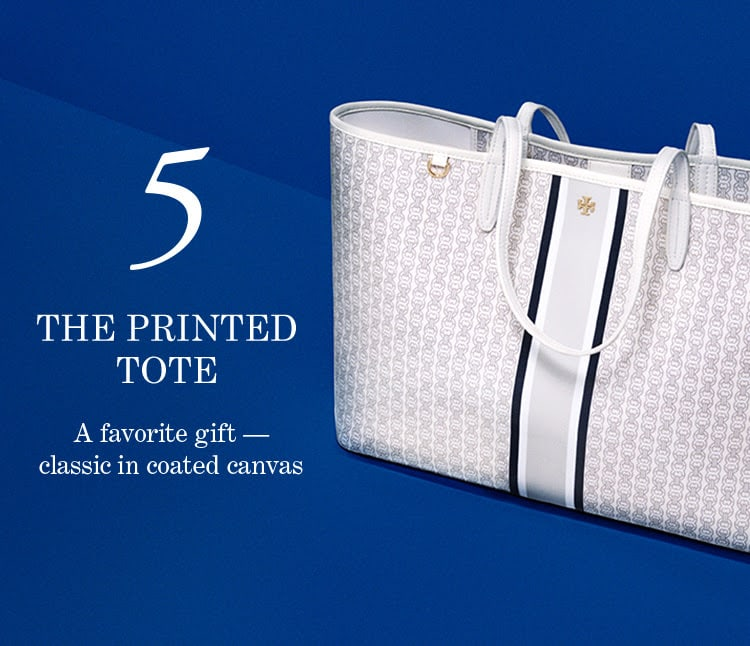 5. The Printed Tote