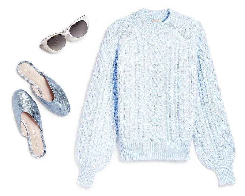 Aquarius Ice Blue & Ivory