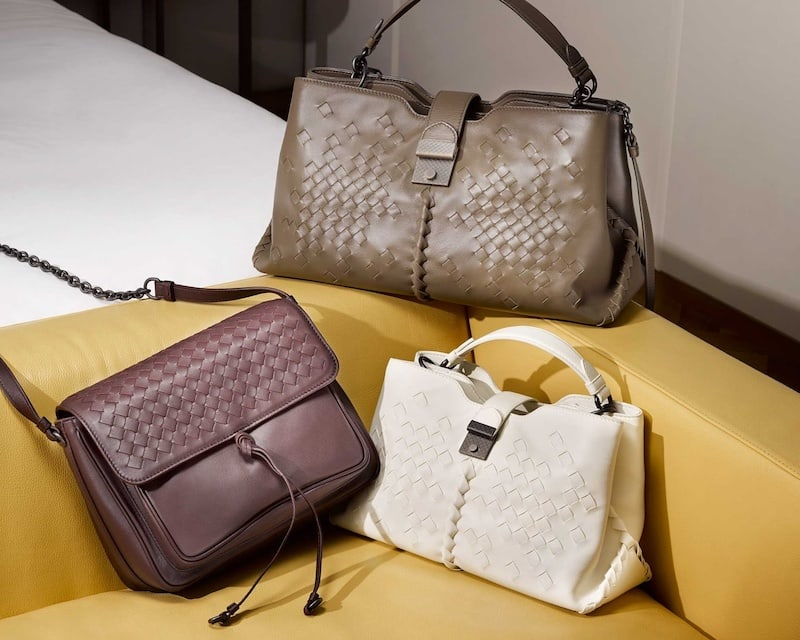 Bottega Veneta Intrecciato Small Leather Cross-Body Bag