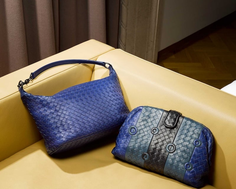 Bottega Veneta Intrecciato Small Leather Shoulder Bag