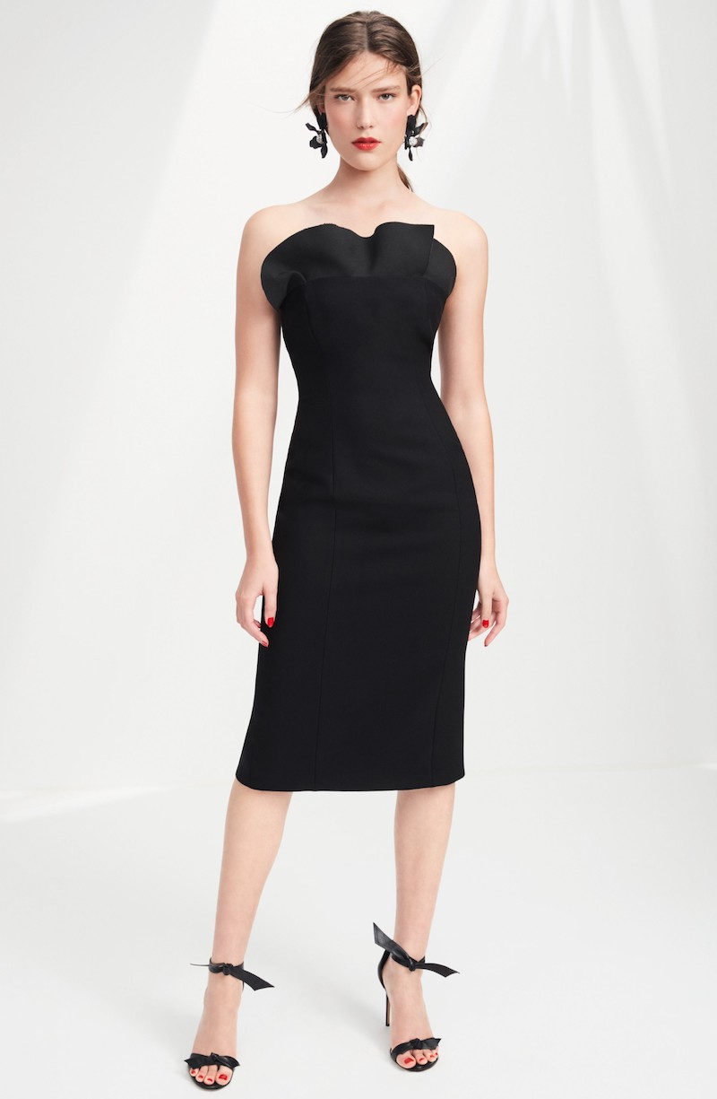 Cinq à Sept Jolie Marceau Strapless Dress