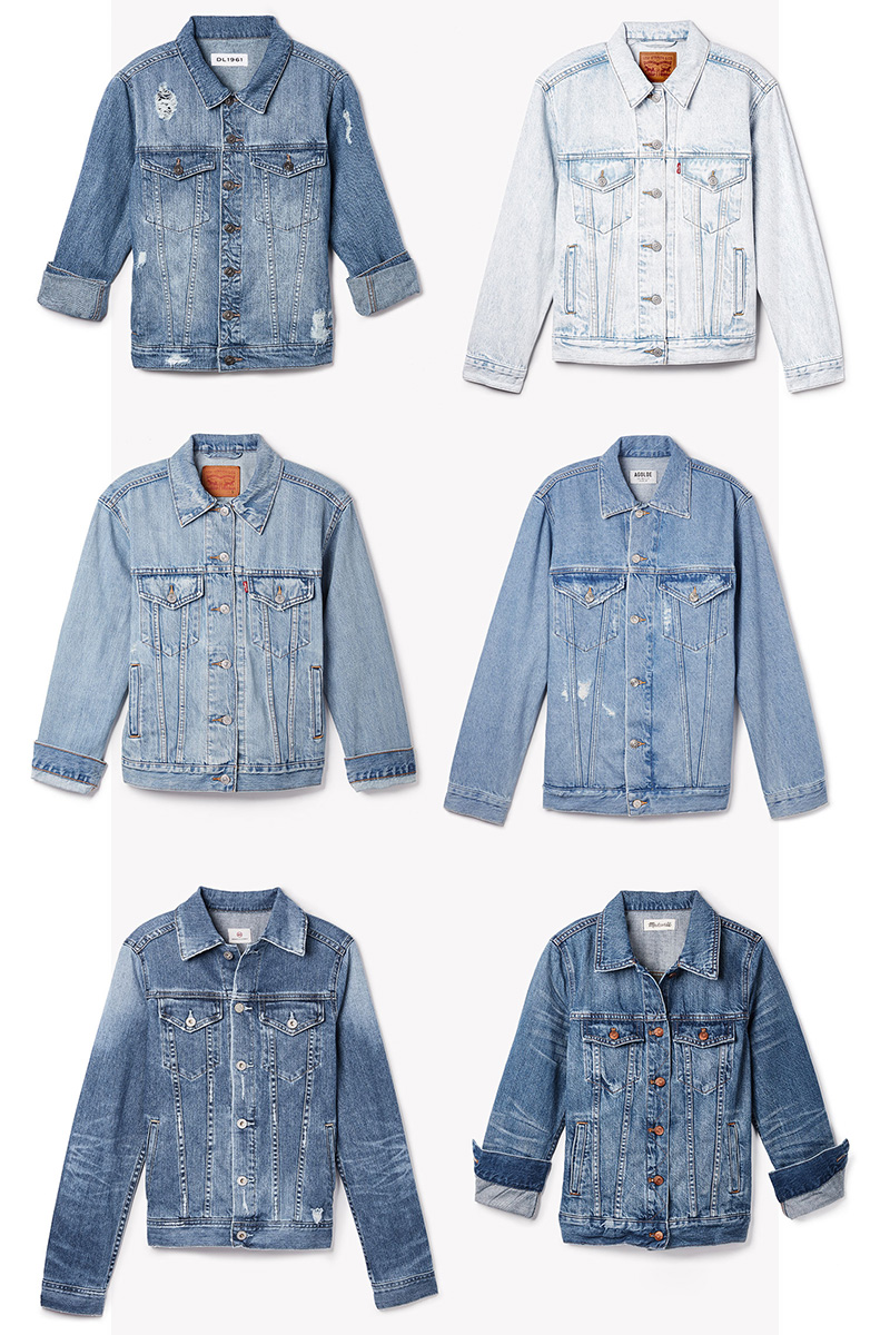 Denim on Denim Jacket for Winter 2017