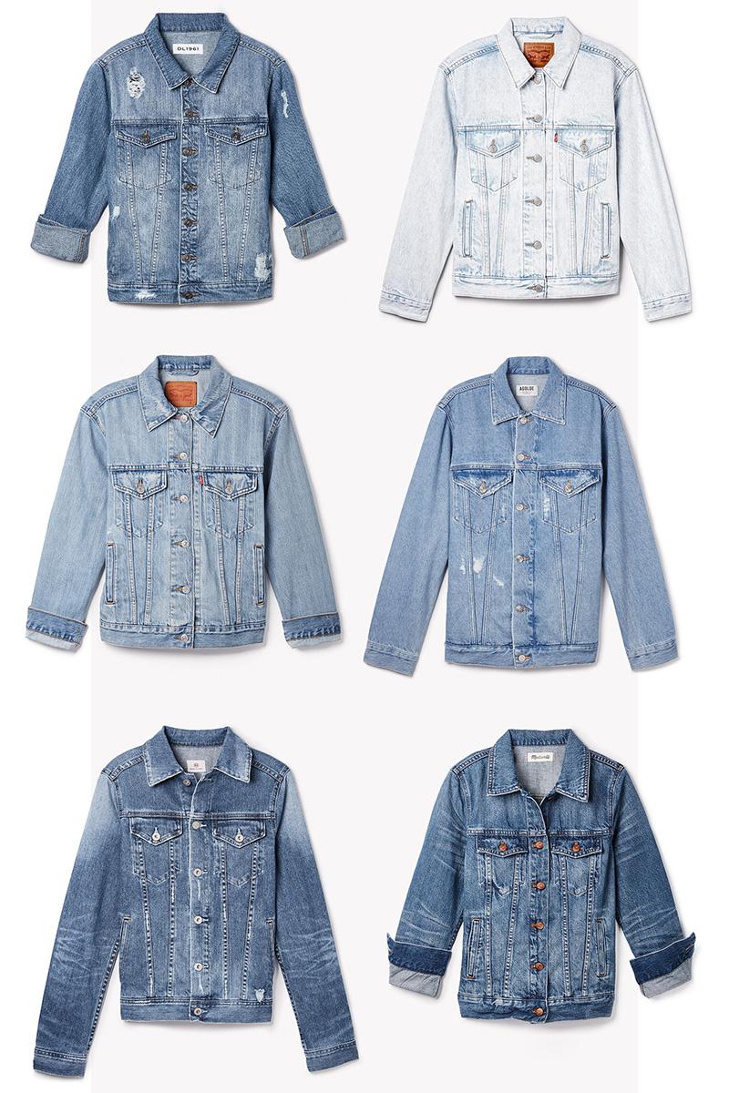 Denim on Denim Jacket for Winter 2017