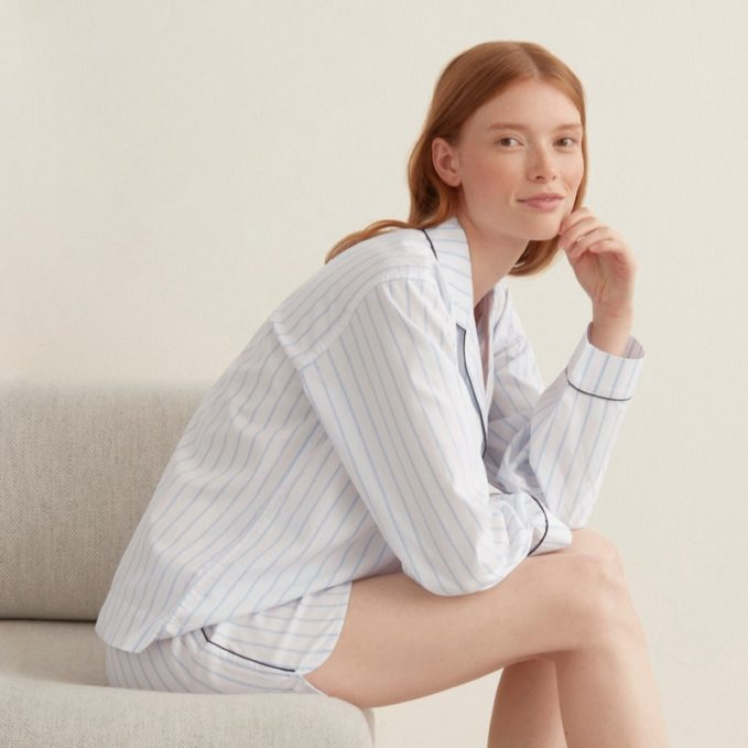 Everlane Oxford Pajama Short