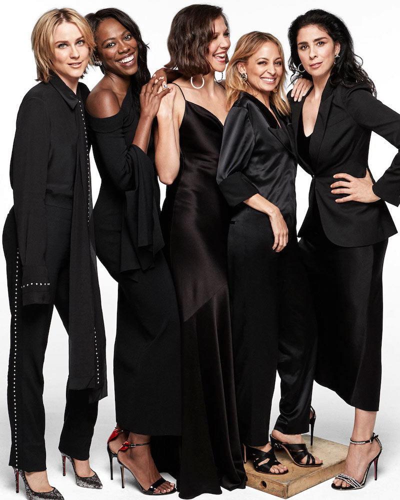 Leading Ladies Maggie Gyllenhaal, Evan Rachel Wood, Yvonne Orji, Sarah Silverman and Nicole Richie for The EDIT 1