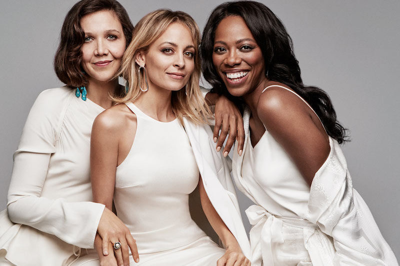 Leading Ladies Maggie Gyllenhaal, Evan Rachel Wood, Yvonne Orji, Sarah Silverman and Nicole Richie for The EDIT 2