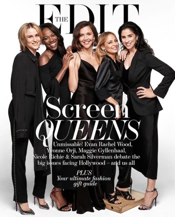 Leading Ladies: Maggie Gyllenhaal, Evan Rachel Wood, Yvonne Orji, Sarah Silverman and Nicole Richie for The EDIT